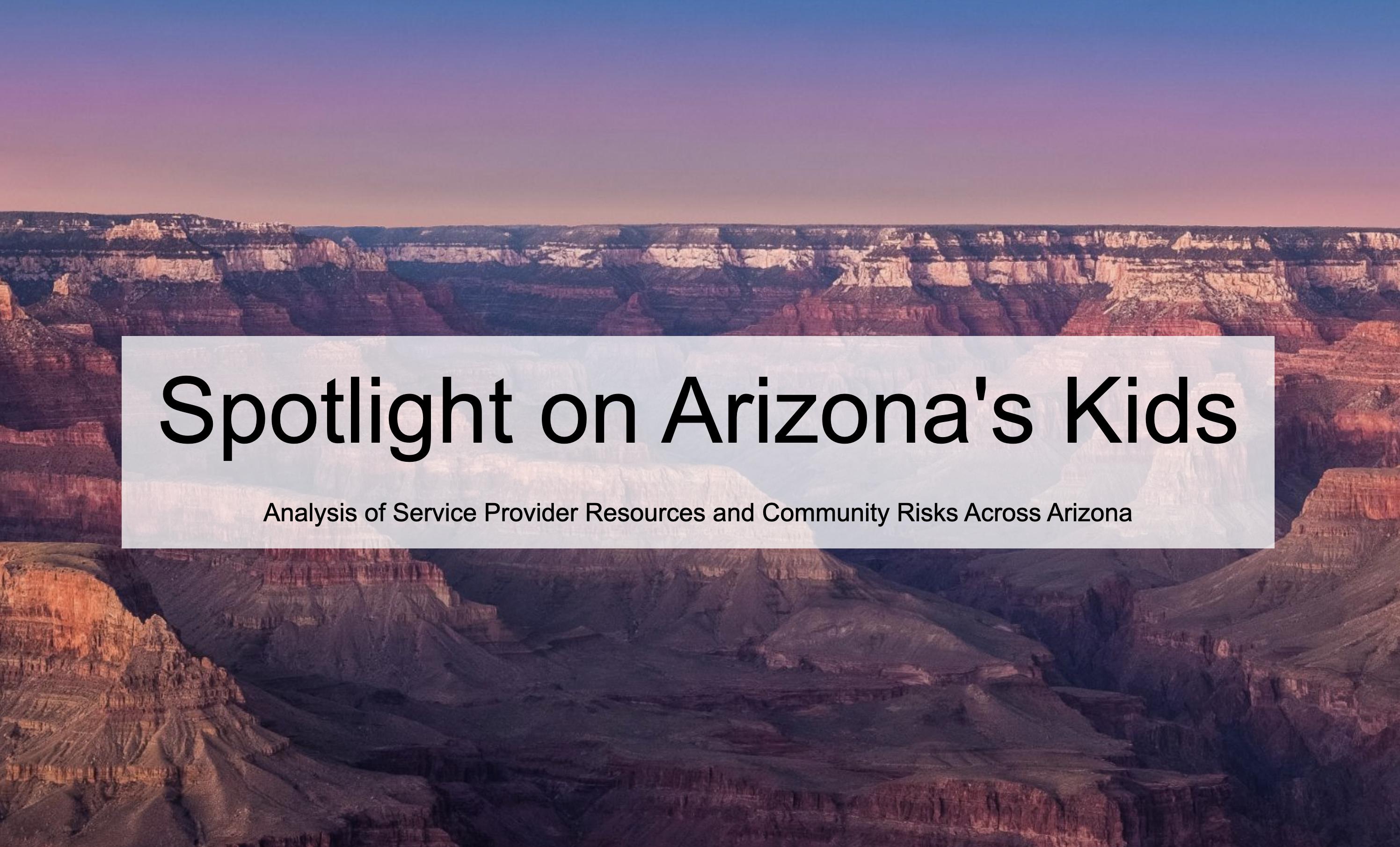 Spotlight on Arizona's Kids
