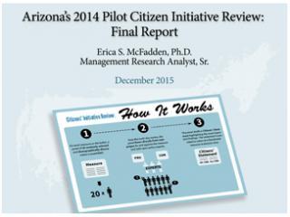 Citizen Initiative Review