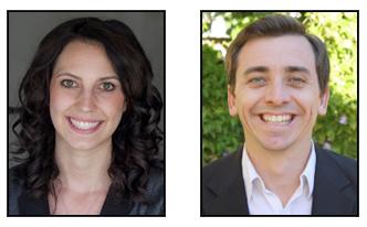 Erica Quintana and David Schlinkert