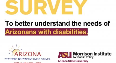 Survey: Living with a disability in Arizona