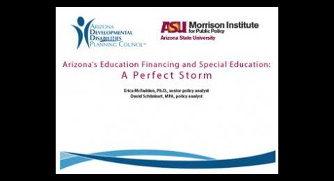 Financing Special Education