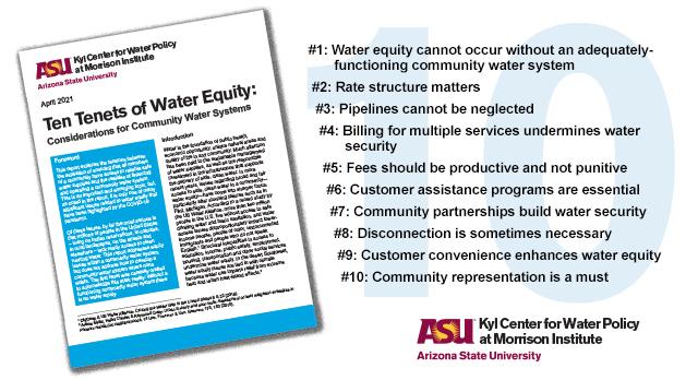 Ten Tenets of Water Equity